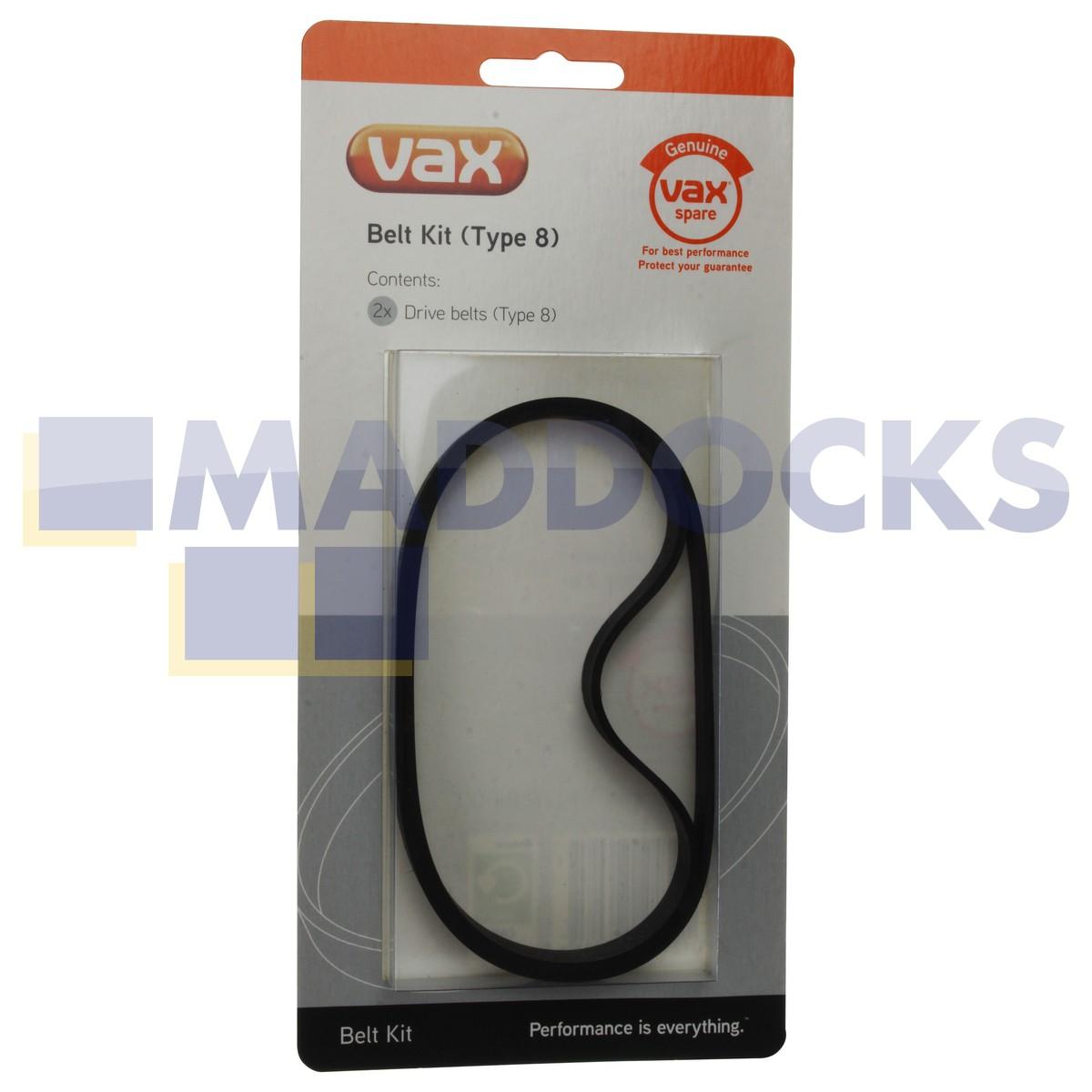 Vacuum Cleaner Belts Vax VZL201 VZL6012