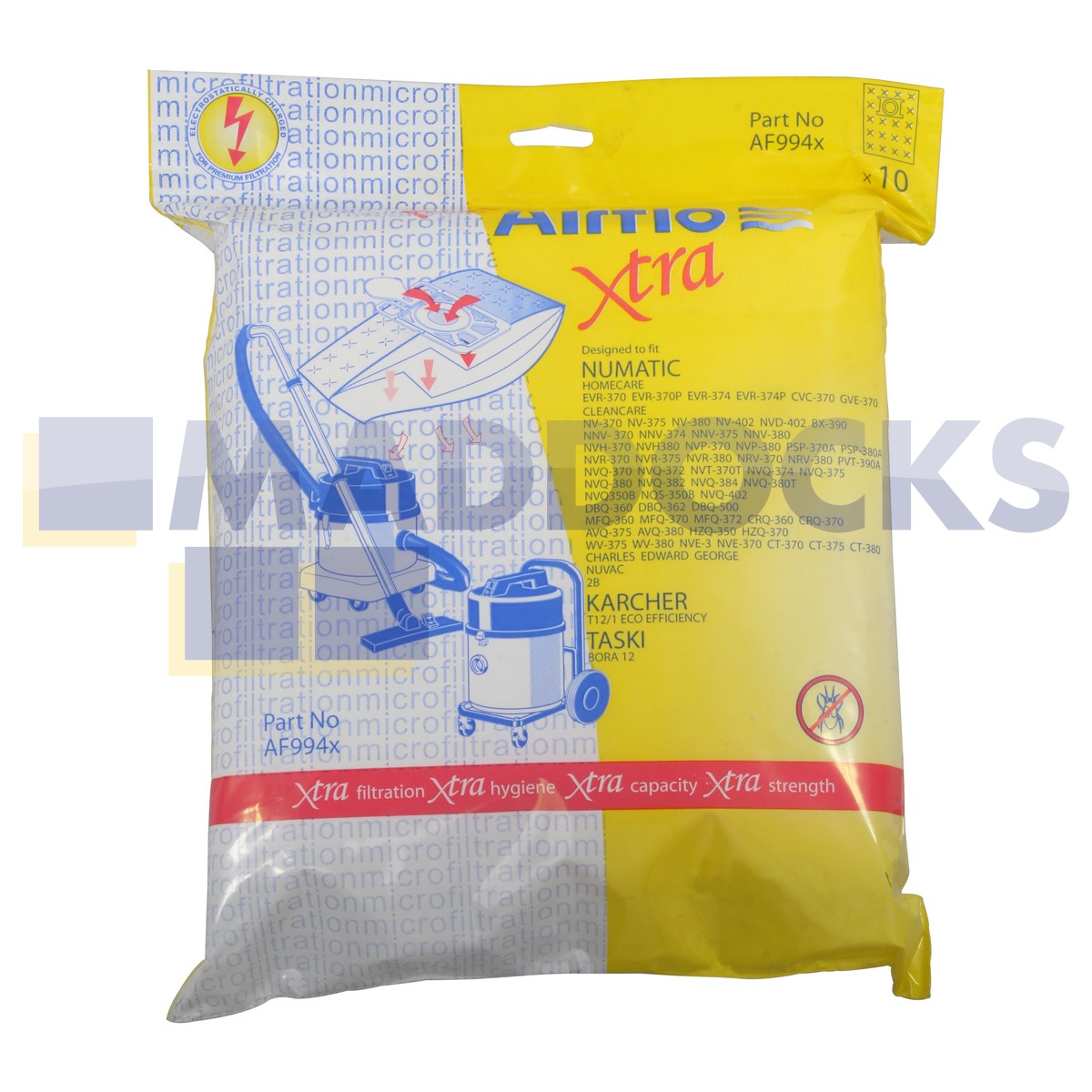 Europart Online Replacement Pattern Airflo Bags For